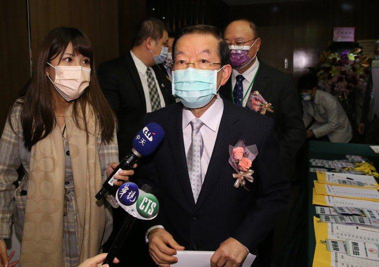 駐日代表謝長廷。記者許正宏/攝影