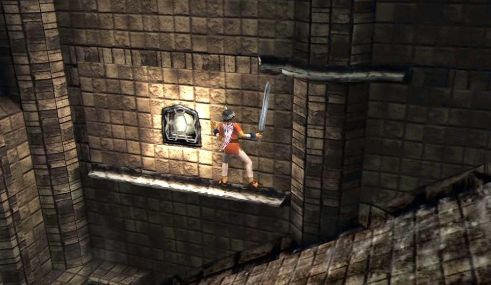 許多時候都必須要操縱主角ICO爬上爬下,或是攀爬在牆邊等地方,頗有古墓奇兵的感覺...