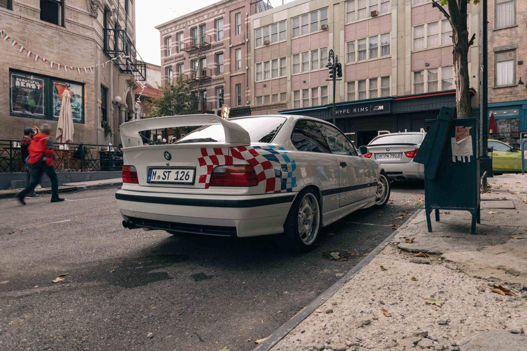 美國限定126輛的BMW E36 M3 Lightweight。 圖/BMW提供
