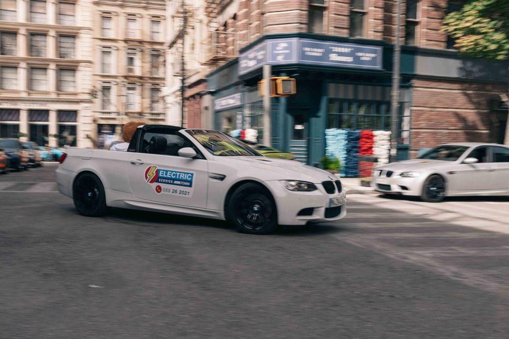 BMW E92 M3皮卡。 圖/BMW提供