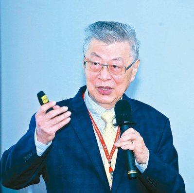 行政院前院長陳冲演講 「逆全球化的新鏈情」。記者曾吉松/攝影