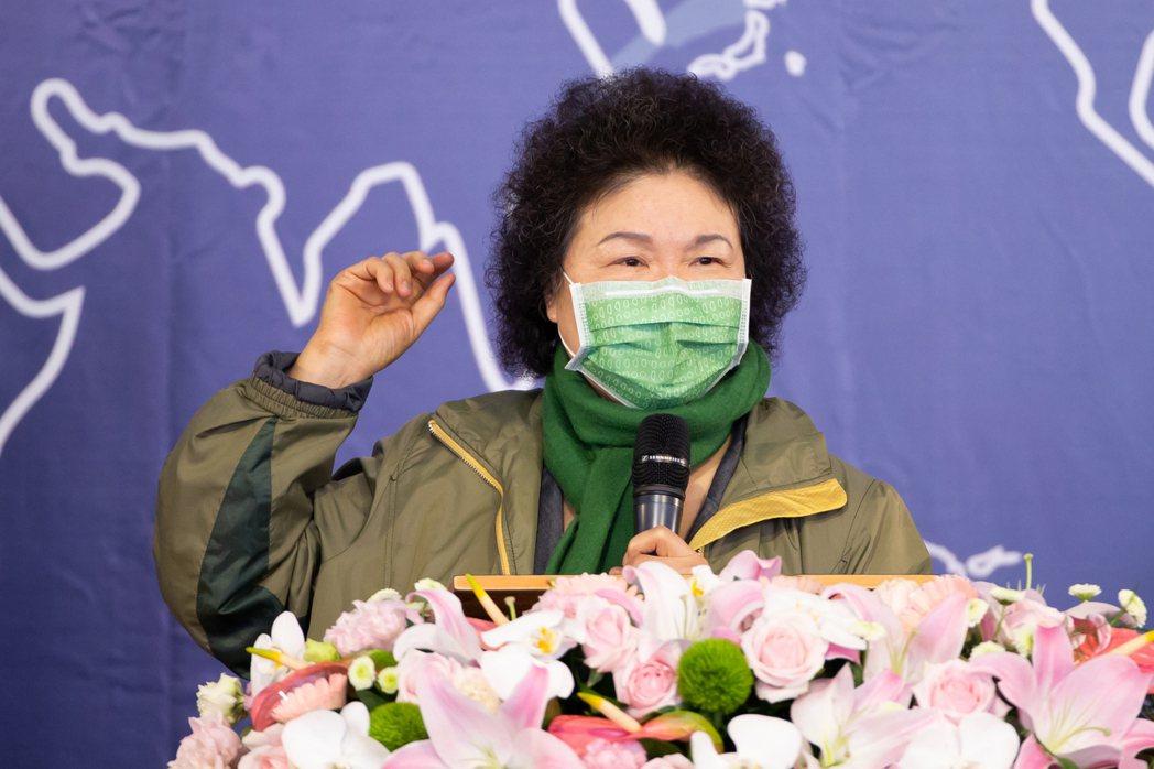 監察院長陳菊昨天受訪回應內閣改組議題,角色分際遭外界質疑。記者季相儒/攝影