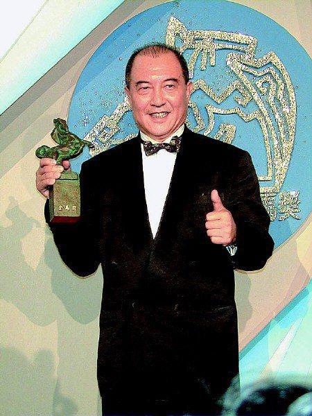 1999年柯俊雄以「一代梟雄-曹操」再度得到金馬最佳男主角獎。圖/聯合報系資料照片