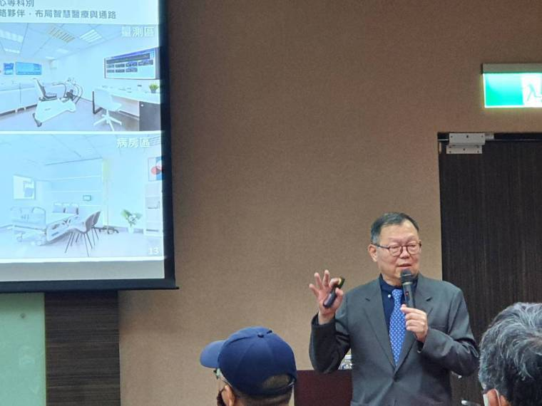林奇宏表示,未來醫療照護將朝去集中化、家庭為導向轉型。記者楊雅棠/攝影