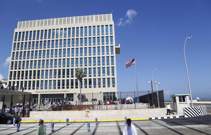 美国驻古巴大使馆。(美联社)(photo:UDN)