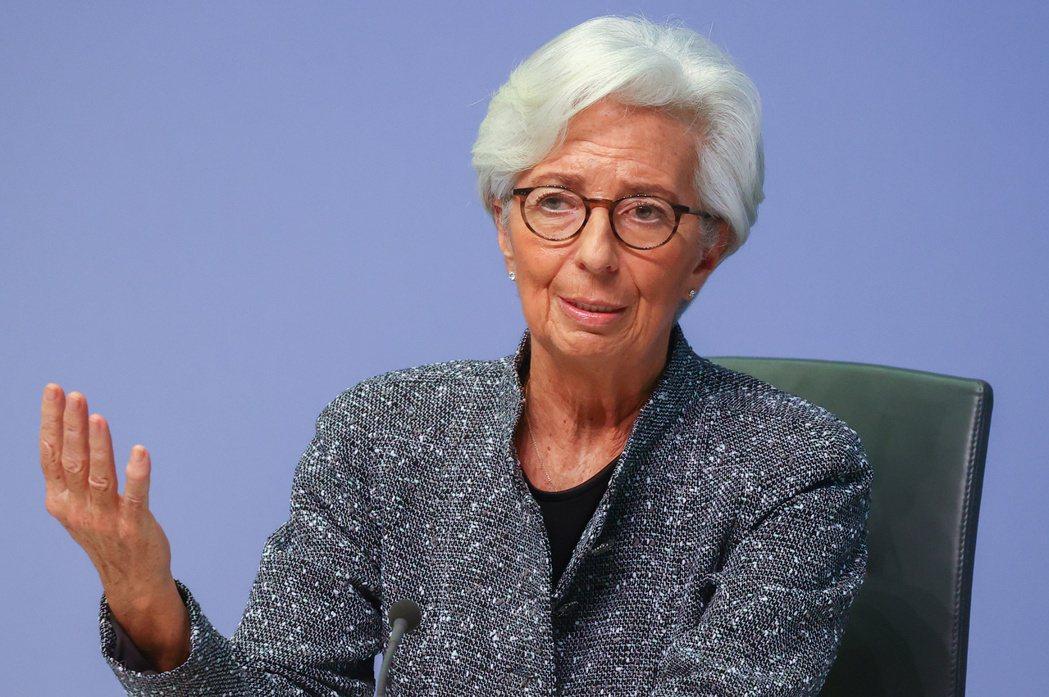 ECB總裁拉加德。(路透)