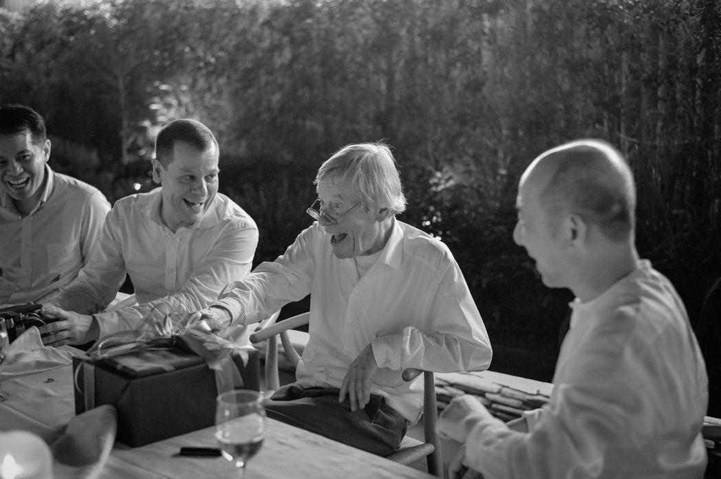 第二代經營者Gerd Bulthaup與第三代經營者Marc O Eckert於...