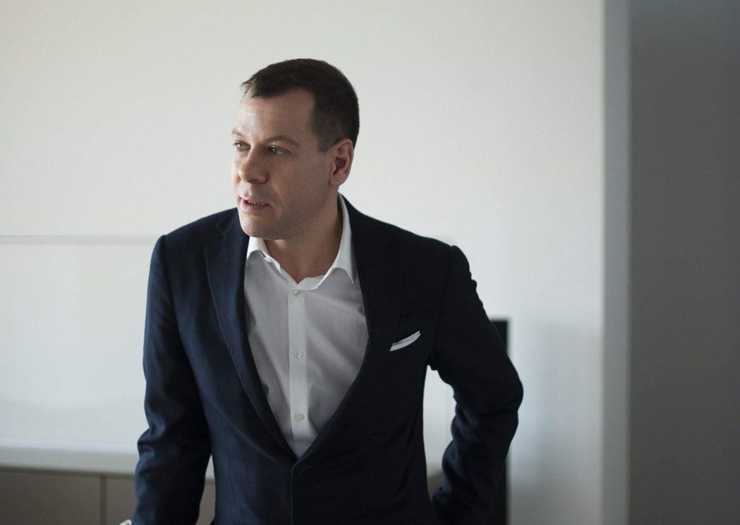 現任第三代執行長Marc O Eckert。 圖/楠弘廚衛提供
