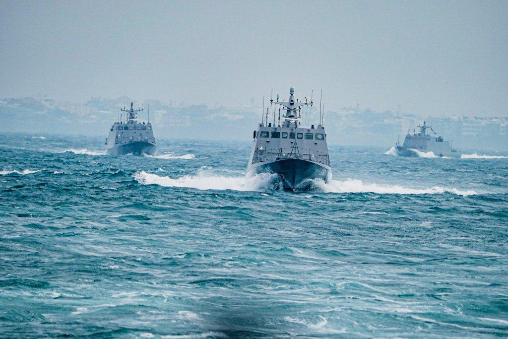 微突艇其實不僅符合國軍作戰需求,也符合創新、非對稱的原則。圖為光六飛彈快艇。 圖/中華民國海軍
