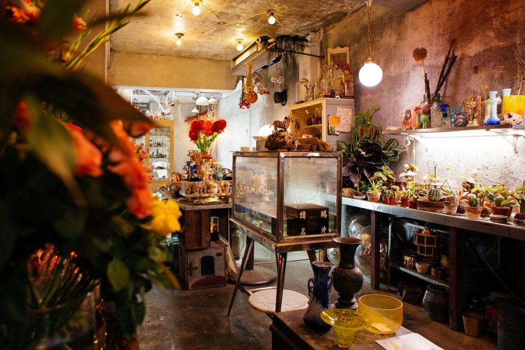 2021街曆計畫特色店家「火山花店」。 圖/勤美集團提供