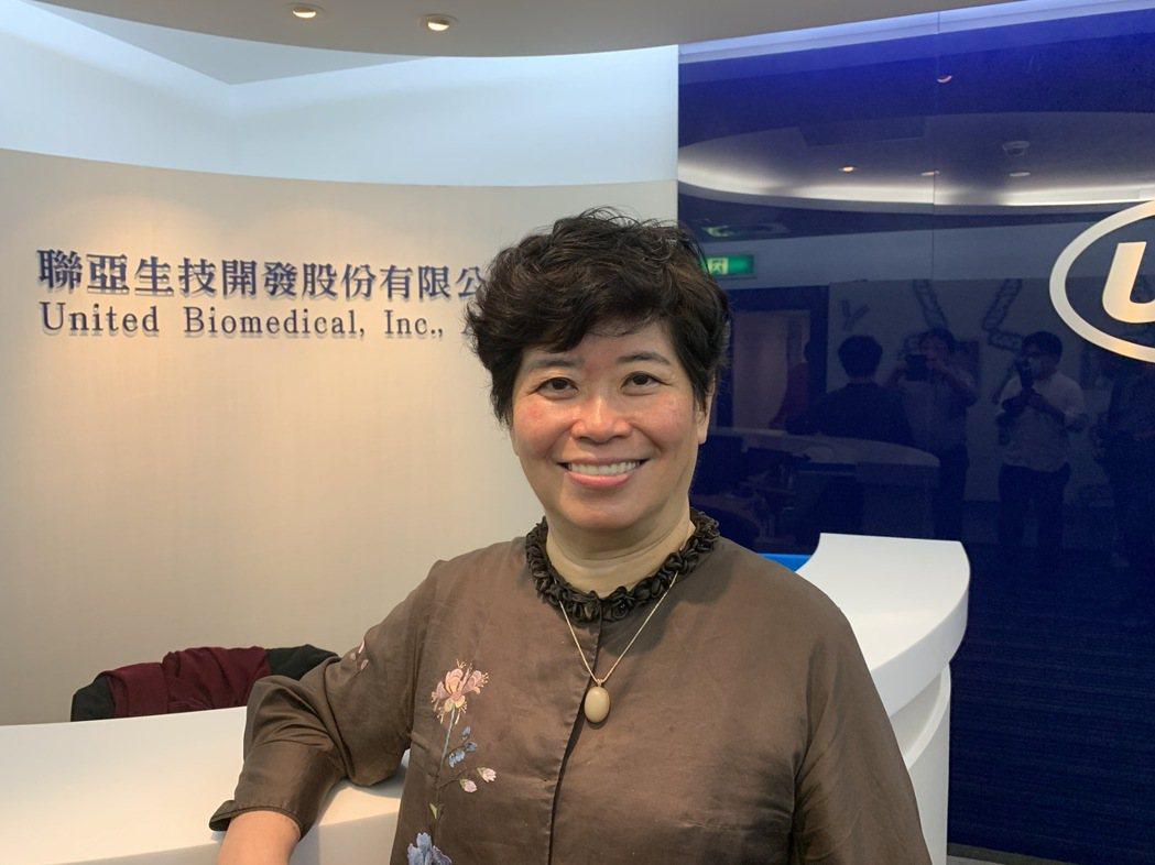 聯亞生技董事長王長怡 記者謝柏宏/攝影