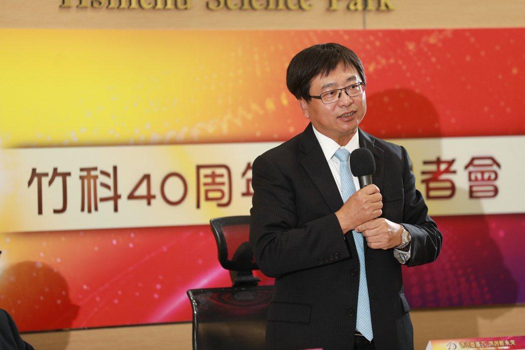 新竹科學園區管理局局長王永壯。 賴俊明/攝影