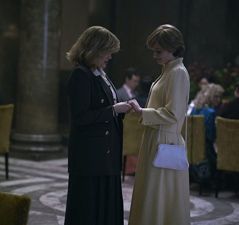 「王冠」中對黛安娜(右)與卡蜜拉的描述,引發英皇室人員強烈不滿。圖/摘自Netf...