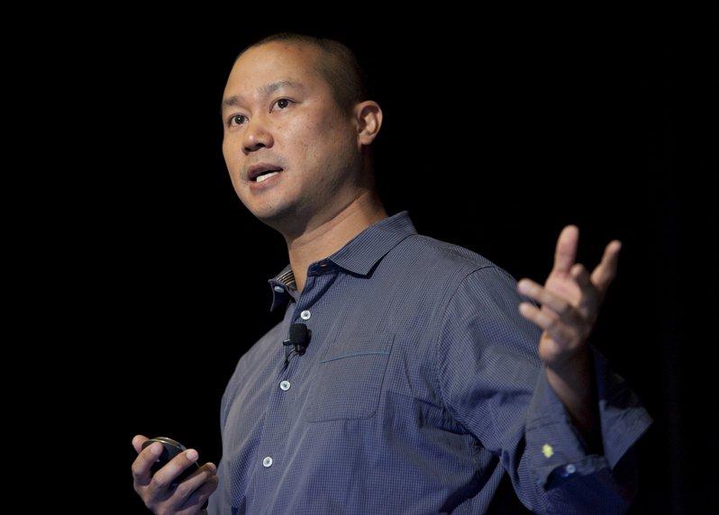 網路鞋商Zappos台裔創辦人謝家華上月因火災辭世。 美聯社