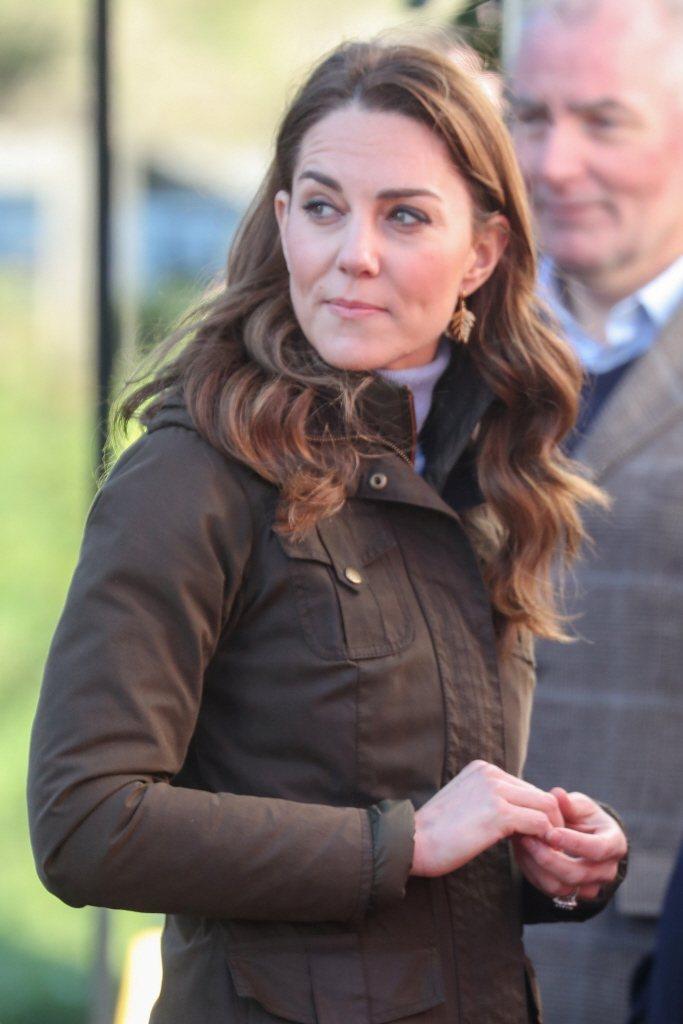 凱特因「未來王后」的尊貴身分備受款待。圖/路透資料照片