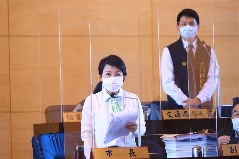 台中市長盧秀燕強調,北捷何時提報告,才是下一步的決策點。記者陳秋雲/攝影