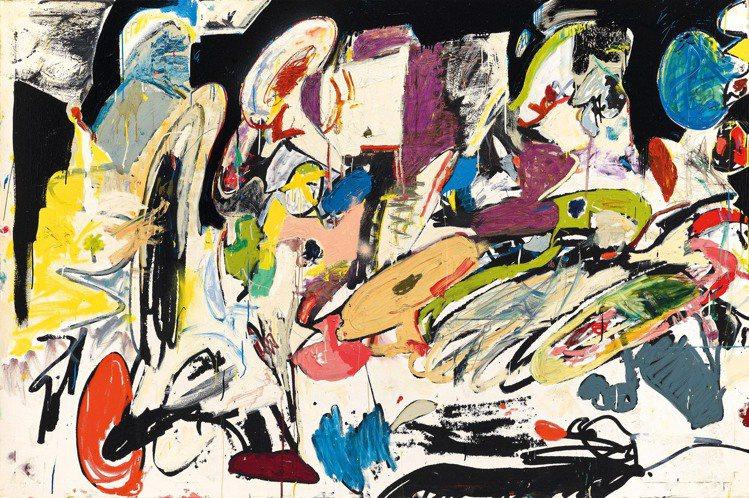 「薈萃國際」,艾迪馬丁內斯「無題」,成交價4176萬元。圖/羅芙奧提供