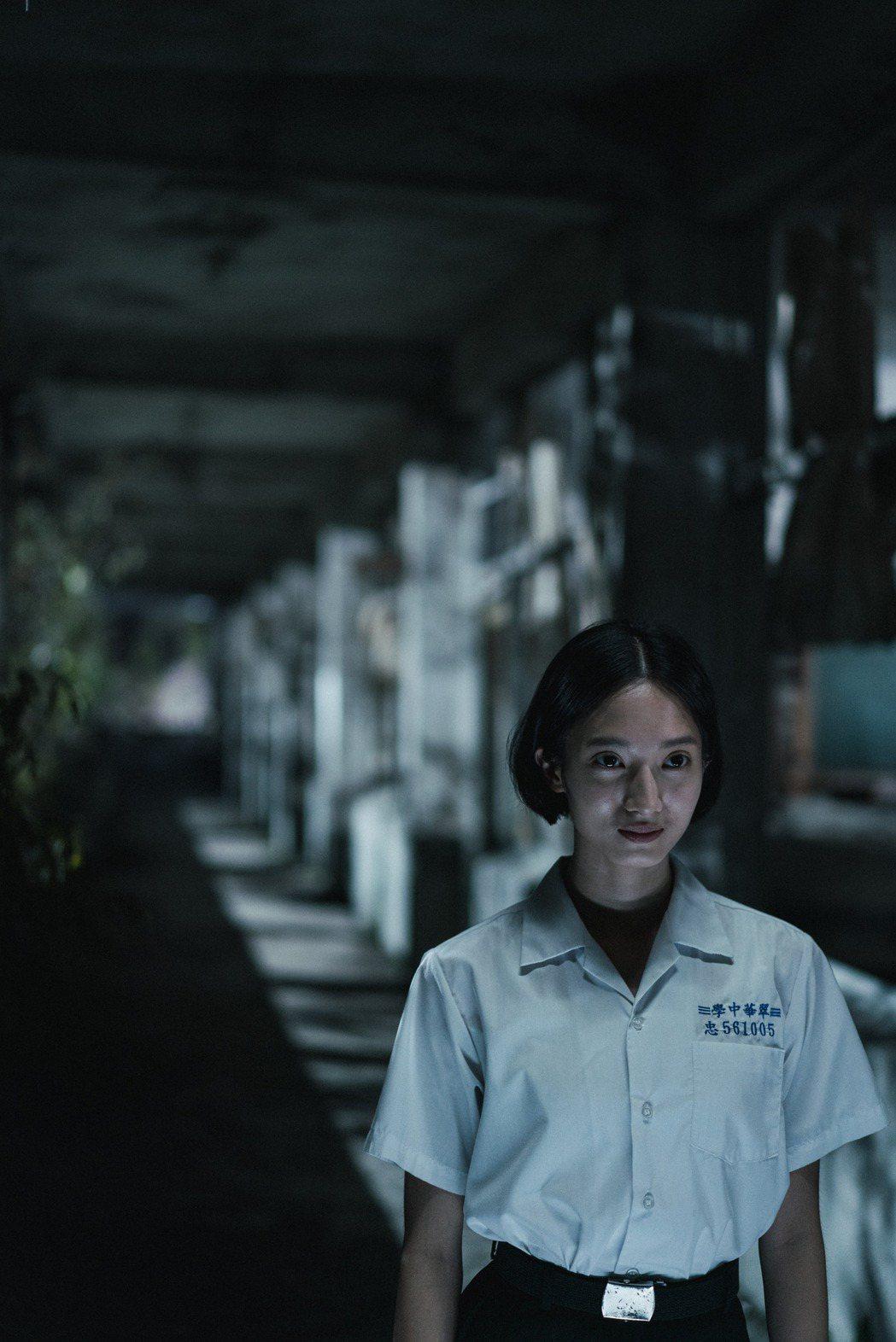 韓寧在「返校」影集中飾演「學姐」方芮欣。圖/公視提供