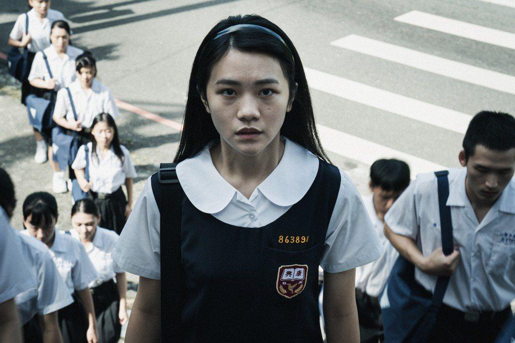 李玲葦在「返校」中飾演「學妹」劉芸香。圖/公視提供