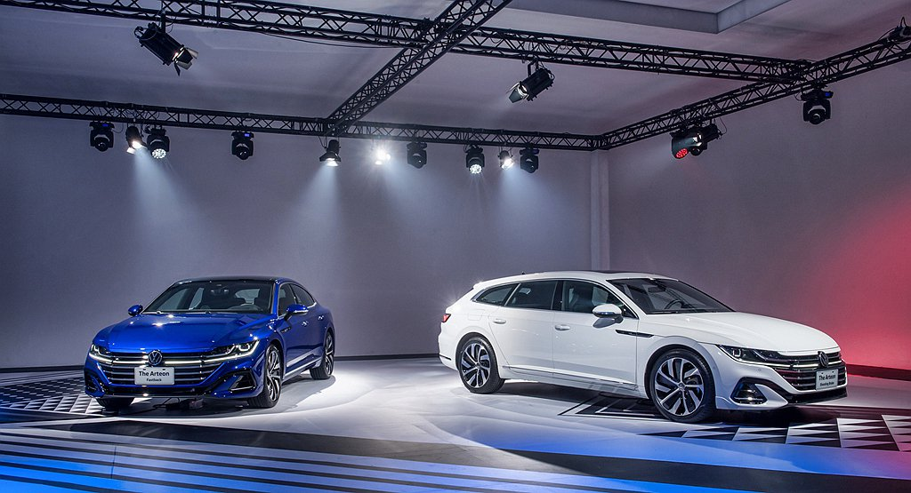 台灣福斯汽車確認Arteon車系將於明年1月正式發表。 圖/Volkswagen...