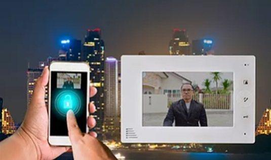 毫米波感測器應用於可視門鈴攝影機/戶外攝影機。 雷捷電子/提供