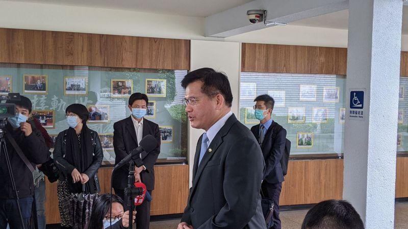 交通部長林佳龍。記者蔡佩芳/攝影