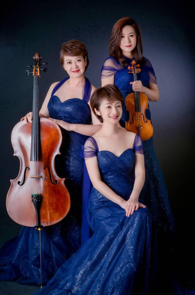三位氣質超好的音樂博士組成「菁英藝術家三重奏」,明天下午到佛光大學德香樓演出,不可錯過的藝術季精彩壓軸表演。圖/佛光大學提供