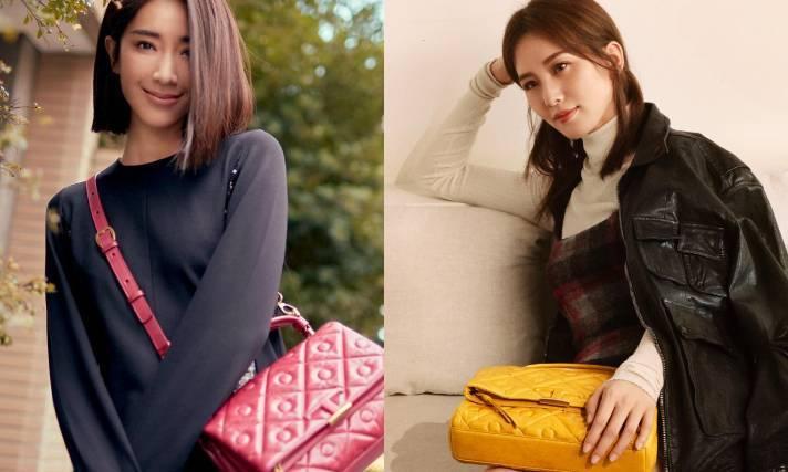 今年秋冬TOD'S以經典豆豆鞋為靈感,打造出名為Signature的新系列包款。圖/摘自IG、迪生提供