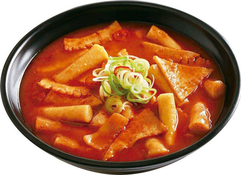 韓英辣味海鮮年糕售價每碗150元。圖/SOGO提供