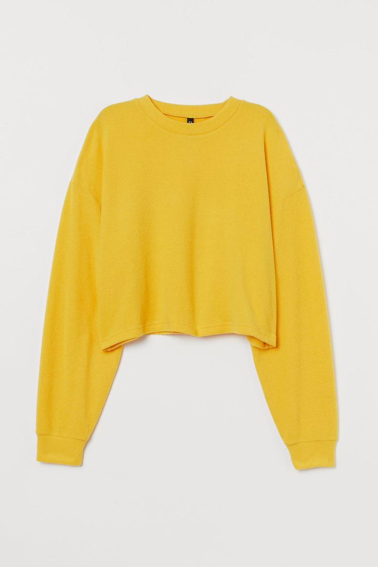 H&M女版方形剪裁上衣,原價349元,特惠價200元。圖/H&M...