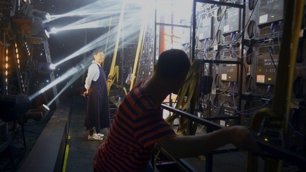 以許鞍華為記錄的新片「好好拍電影」將上映。圖/傳影提供
