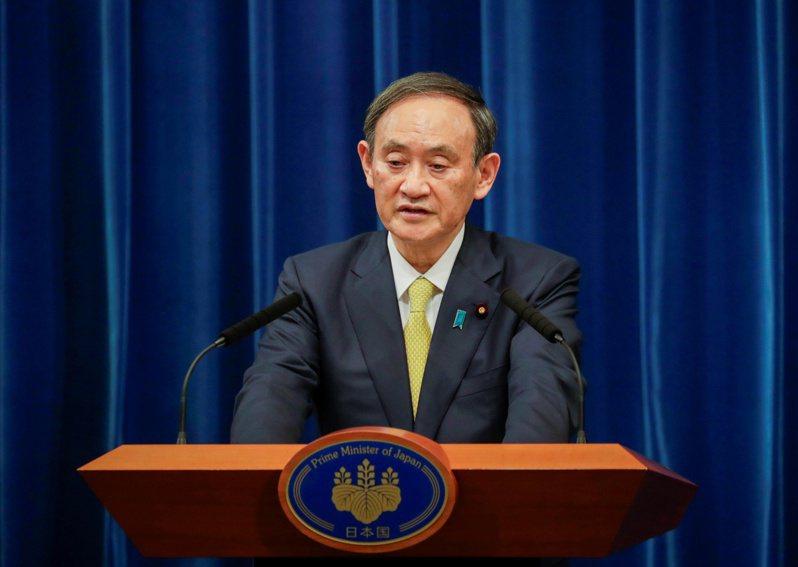日本首相菅义伟宣布708亿美元的刺激经济计画。 (路透)(photo:UDN)