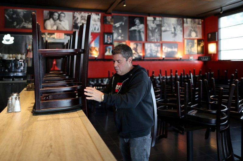 不敌新冠疫情冲击,全美目前已有超过11万家餐馆倒闭,凸显这场公卫危机对美国餐饮业造成沉重打击。路透(photo:UDN)