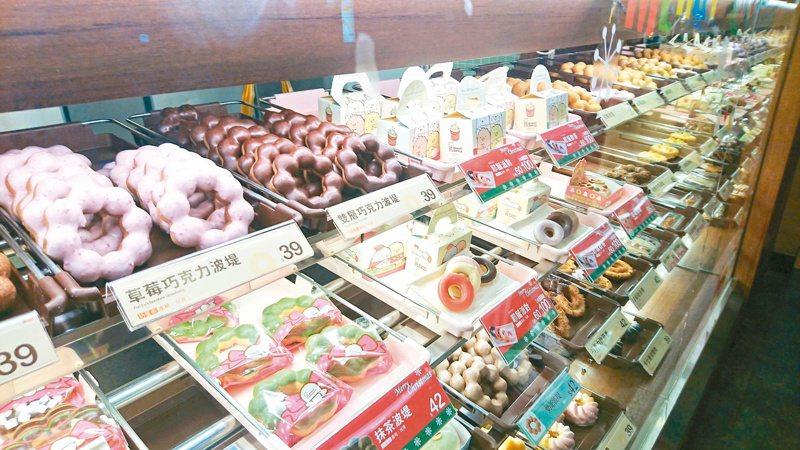 福灣巧克力董座五年前涉嫌性騷擾案最近於網路發酵,Mister Donut與福灣攜手推出的巧克力甜甜圈也下架停售。記者林俊良/攝影