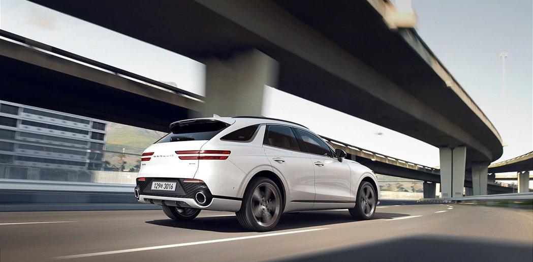 全新Genesis GV70在韓國共提供了三種動力車型,包括3.5 T、2.5 ...
