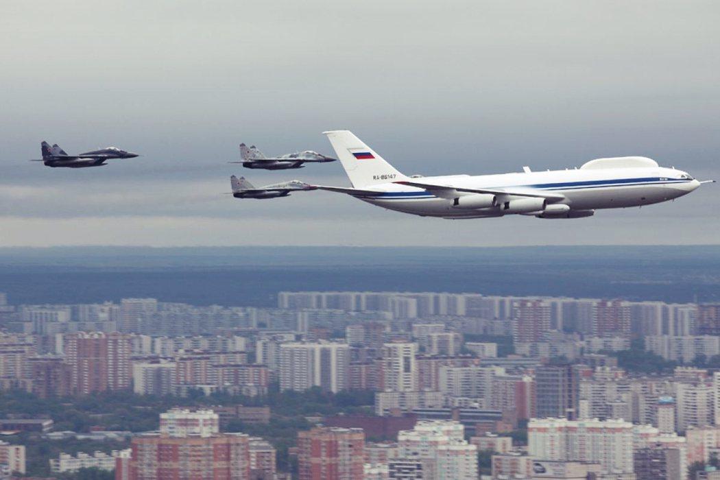 「末日專機」IL-80。 圖/維基共享