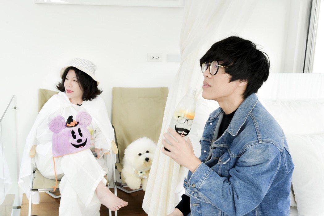 陳文茜與盧廣仲。圖/有鹿出版社提供