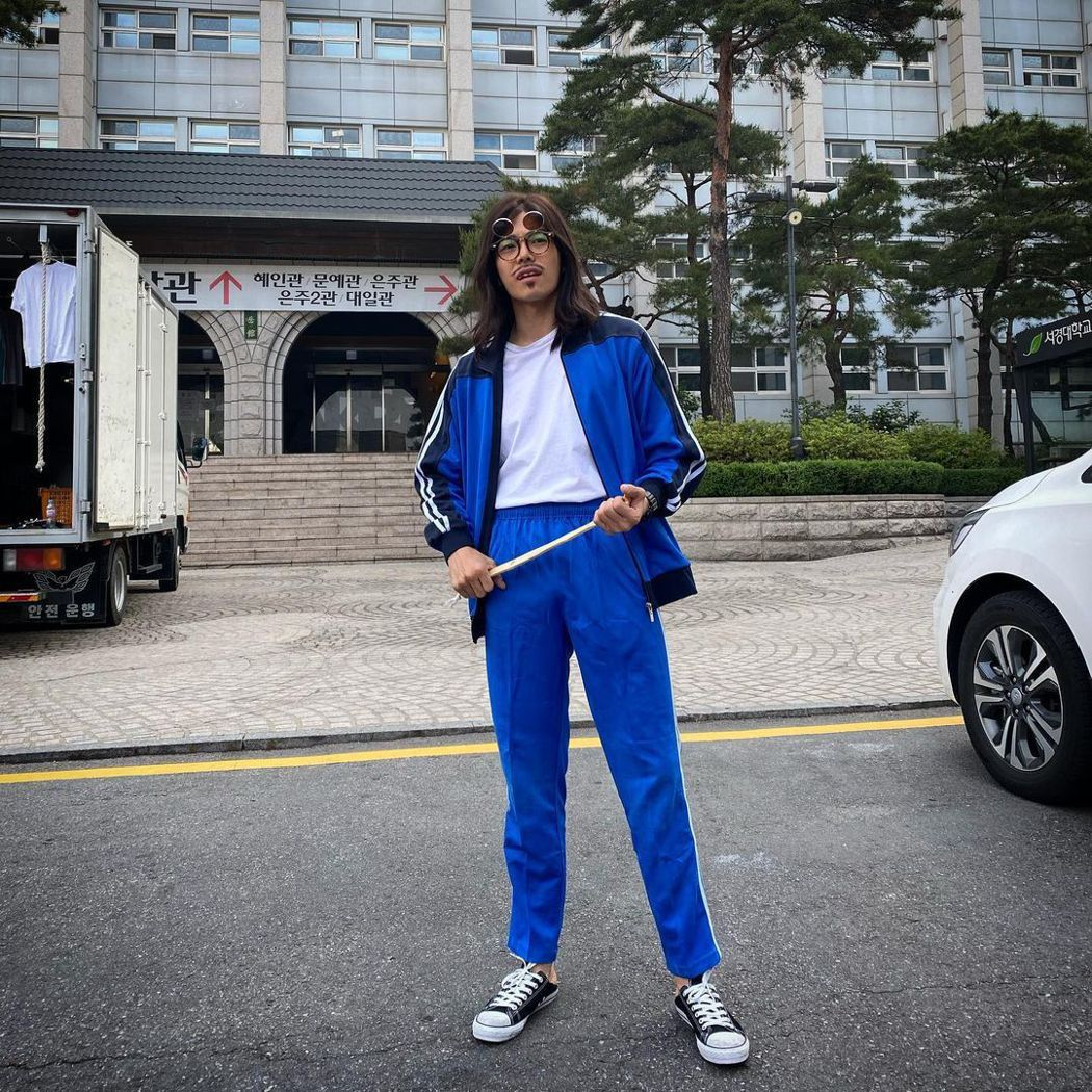 朴殷碩在「Penthouse」演出體育老師。圖/擷自IG