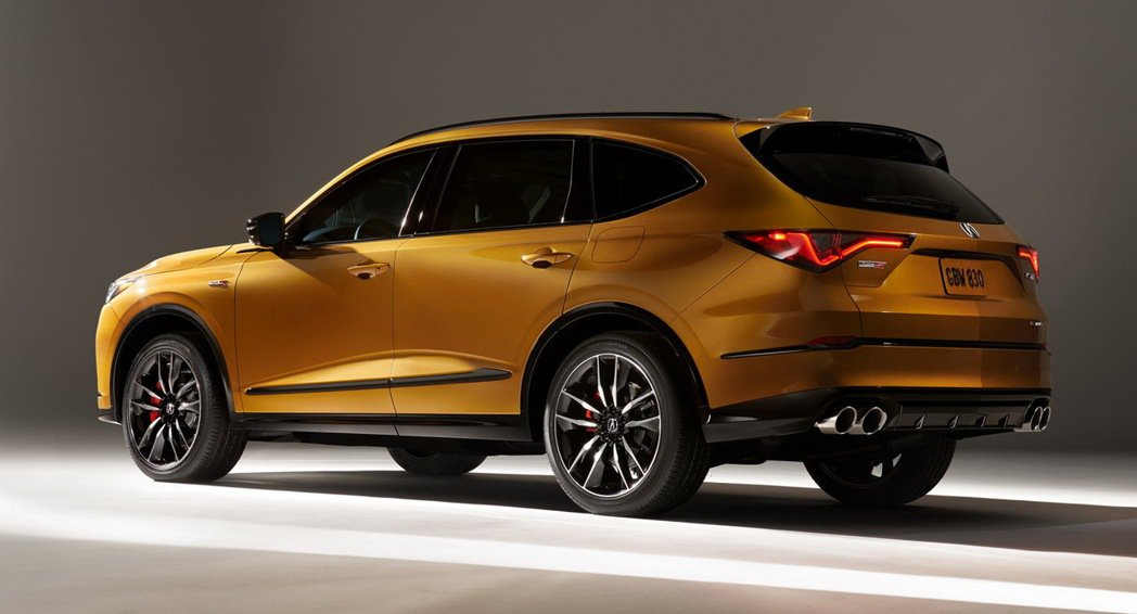 Acura MDX Type-S將於2021夏天上市,有355hp/48.9kg...