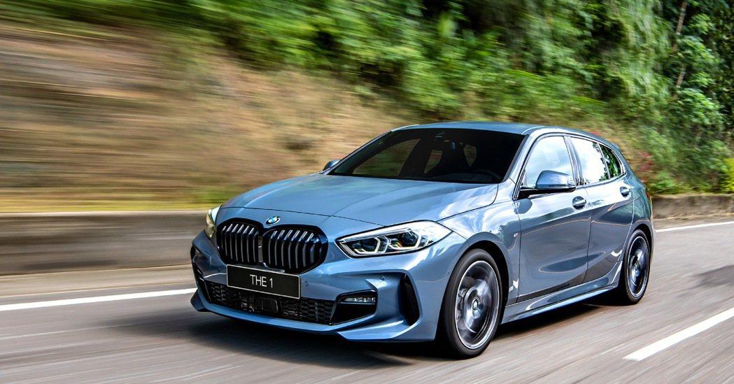 以突破慣性的姿態在眾人面前搶眼登場的全新2021年式BMW 1系列,升級BMW智...