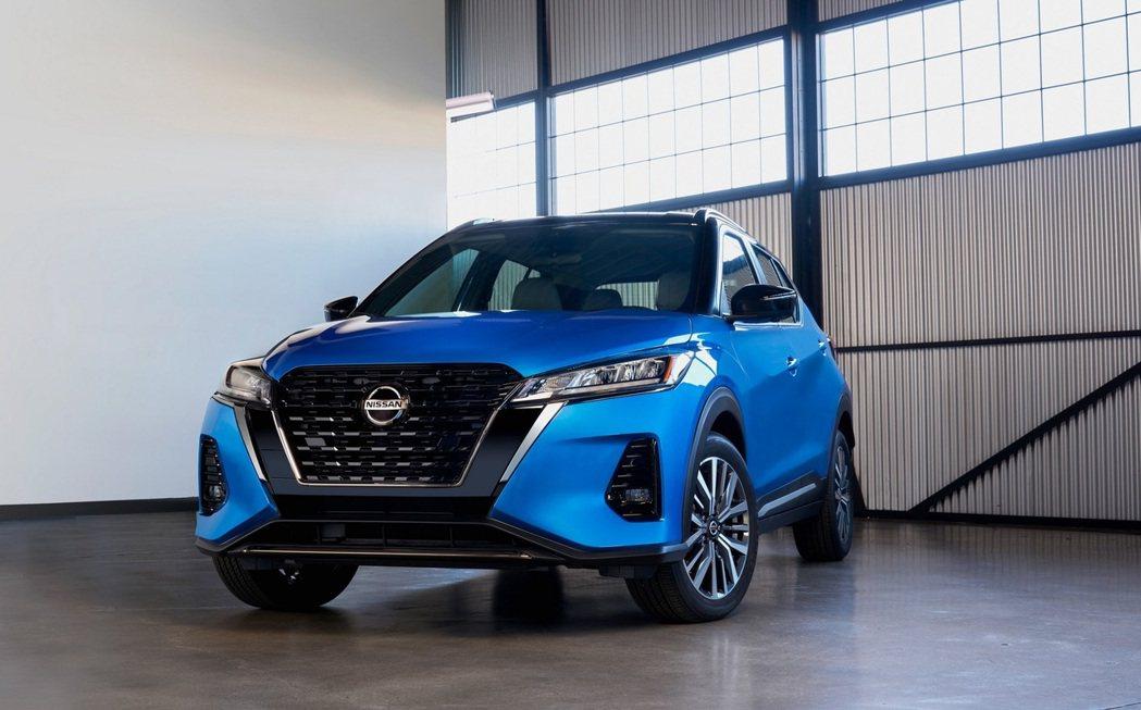 美規小改款Nissan Kicks發表。 圖/Nissan提供