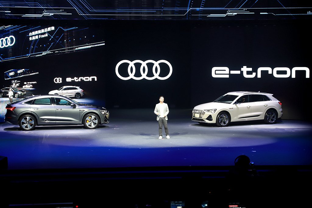 Audi e-tron、e-tron Sportback均提供55quattro...