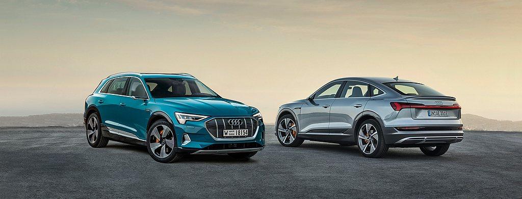 針對Audi e-tron 50 quattro S line、e-tron 5...