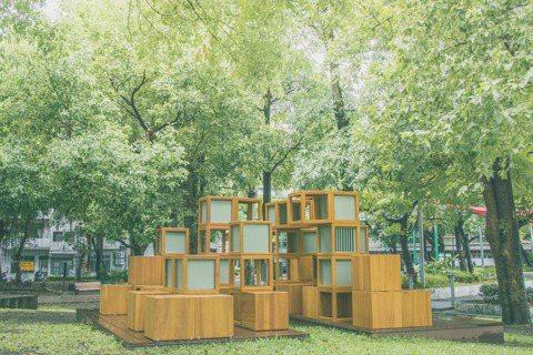 用設計帶進社區,讓公園與閱讀發生共鳴與關係,也給孩子與家長對公園有了不一樣的想像...