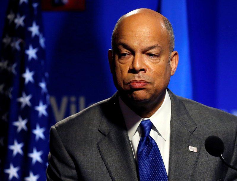 美國前國土安全部長強森(Jeh Johnson),表示他不會加入拜登政府。 路透社