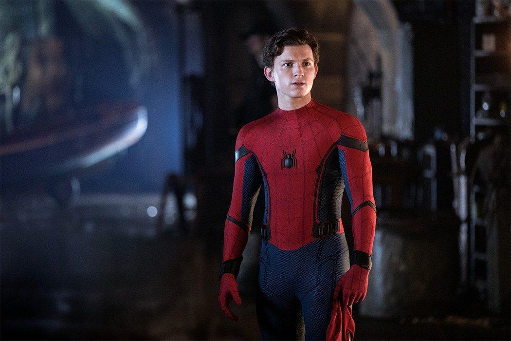 湯姆霍蘭德「蜘蛛人:離家日」。圖/索尼提供