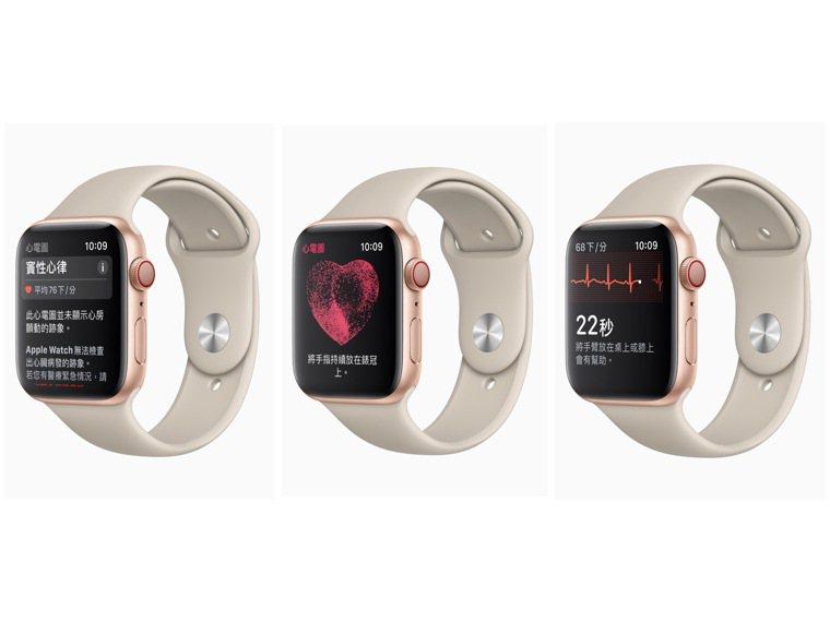 觸碰Apple Watch Series 4與後續表款上的數位表冠,即可連通電路...