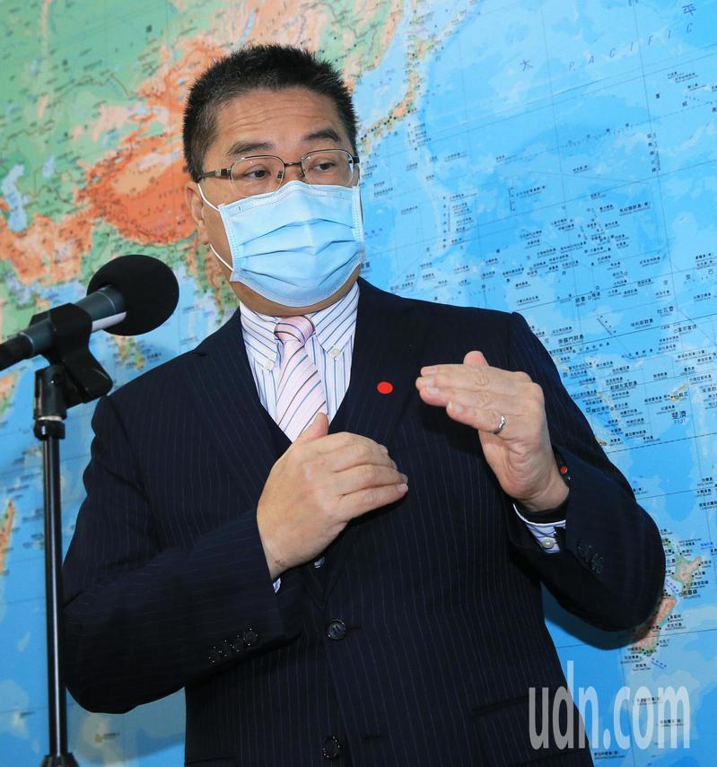 內政部長徐國勇今天表示,辦活動要注意社會的氛圍,宗教活動不影響他人是對神明的尊敬。記者潘俊宏/攝影