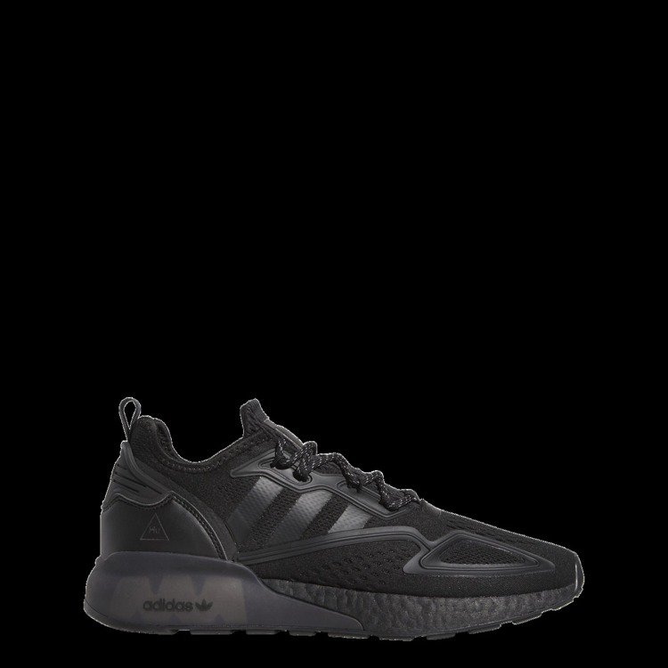 adidas Originals Triple Black系列ZX 2K BOO...