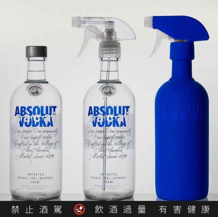 空酒瓶裝上套組中的噴嘴矽膠套與噴嘴,就可以再利用。圖/摘自「sacaioffic...